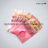 Мешок PE фольги Alluminum цвета Offprinting 4 Ziplock пластичный