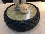 Insiemi di cuoio di lusso antichi classici del sofà di Chesterfield