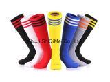 De fabrikant Aangepaste OEM Sokken van de Voetbal van Terry van de Dienst &Plain