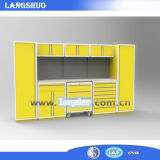 Cabina de herramienta resistente usada cocina de Paching del almacenaje del rodillo de 72 pulgadas