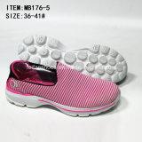 Самая последняя нашивка Slip-on женщин низкой цены способа резвится вскользь ботинки (MB176-6)