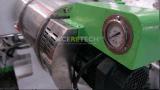 Sistema modificado para requisitos particulares del reciclaje y de la Re-Granulación para el filamento con forma de cinta