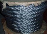 DIN3055 Galvanzied 철사 밧줄 철강선 밧줄