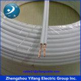 fabricante quadrado do cabo liso do PVC de 2.5mm2 milímetro
