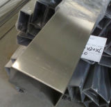 Tubo rectangular del acero inoxidable 310 para la decoración