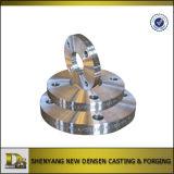 Les pièces Ss304L de garnitures de pipe d'OEM ont modifié le procédé de pièce forgéee de bride