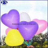 De metaal Ballon van het Helium van de Vorm van het Hart Opblaasbare