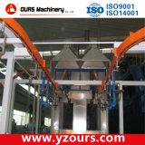 De auto/Hand Zandstralende Cabine van de Deklaag voor Industrie van het Metaal