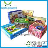 Eco freundlicher Zoll gedruckter Papiernahrungsmittelkasten-Großverkauf