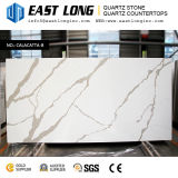 Pedra personalizada de quartzo de 3200*1600mm Aartificial Calacatta para a exportação