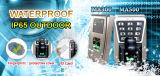 Sistema de control de acceso por huella digital a prueba de agua al aire libre con teclado y TCP / IP ( MA500 )