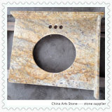 Granite marbre chinoise d'or Vanity Top