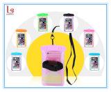 Sac imperméable à l'eau de téléphone de PVC de brassard universel bon marché