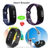 Fitness Bluetooth Smart Wristband avec surveillance de la fréquence cardiaque (H28)