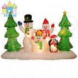 Albero di Natale gonfiabile del pupazzo di neve dei regali di natale