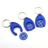 Keychain Halter mit Doppelt-Gesicht Laufkatze-Münze