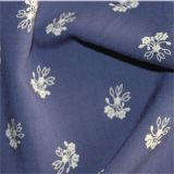 Tissu estampé de fleur de tissu de rayonne de chemise de femmes pour Clothin G