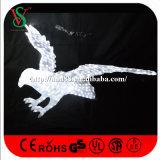 Luces del adorno de la Navidad 3D de la escultura del águila
