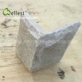Ql-Mo-309 Beige Claro Cuarzo Piedra Esquina de Piedra para Revestimiento de Pared