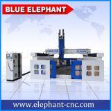 Ele-3030 router di legno di CNC di asse della schiuma di stirolo 4, router di legno di CNC per incisione del legno