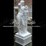 Statua bianca Ms-148 di Carrara della statua del granito della statua della pietra della statua di marmo