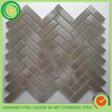 COM Stainless Steel Mosaic Tiles d'Allibaba pour Wall Decoration