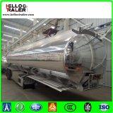 Двойной Axle 42000L алюминиевого сплава топлива топливозаправщика трейлер Semi