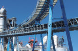 石炭を運ぶための発電所の使用の管のベルト・コンベヤー/管状のベルト・コンベヤー