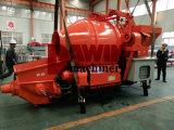 Bomba de concreto elétrico com misturador alimentado por gerador de diesel de 120kw