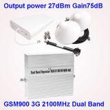 GSM WCDMAの移動式シグナルのブスター2g 3G 4Gの携帯電話の移動式シグナルの中継器