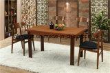 상한 단단한 나무 테이블 고정되는 대중음식점 가구 (FOH-BCA64)