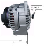 24V 110A Alternator pour Bosch Man Trucks Lester 12724 0124655011