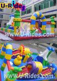 膨脹可能なおもちゃの子供のための膨脹可能なコンボの楽しみ都市