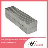 De permanente Gesinterde Magneet van NdFeB van het Borium van het Ijzer van het Neodymium van het Blok van de Zeldzame aarde met Hoge Macht