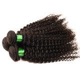 Afro Weave человеческих волос Remy серии волос 3PCS/девственницы волос девственницы ранга 7A волосы бразильского курчавого Kinky курчавого Unprocessed Kinky курчавые