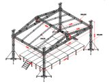 Roof System (CS30)를 가진 옥외 Events Aluminum Stage Truss