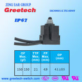 Interruptor aprovado Zippy de IP67 0.1A 12VDC micro