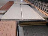El panel de emparedado rígido aislado decoración de la espuma de la PU
