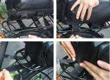 Saco de ciclagem do tronco do assento traseiro da cauda do bloco de nylon impermeável do armazenamento do curso