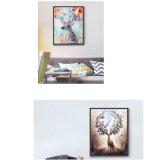 Retrato da arte da parede dos cervos/alces da pintura da lona do petróleo de HD Aninal