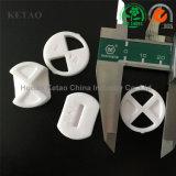 La vente chaude de disque en céramique industriel de l'alumine Al2O3 et la grande pureté, filètent le disque en céramique