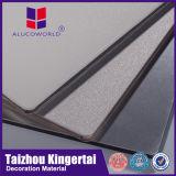 El panel compuesto de aluminio de Alucoworld tiene panel de pared barato de la fachada