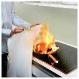 manta del fuego de la fibra de vidrio del 1.2*1.2m con el rectángulo
