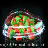 Heart-Shaped Erdbeere-Blasen-Wegwerfkasten