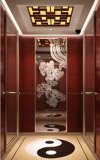 Ascenseur de passager avec le gestionnaire sans engrenages de Vvvf de machine de traction