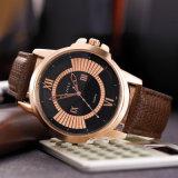 Geschäfts-Armbanduhr-Luxus der Mann-H386 höhlt heraus Zeiger-wasserdichte Quarz-Uhr für Männer aus
