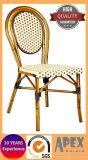 Paris-Stuhl-Bambusblick-Stuhl-Aluminiumrattan-Kaffee-im Freienmöbel