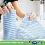 Pano de limpeza não tecido da absorção de água de Spunlace