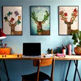 Tier-HD Ölgemälde-Wand-Abbildung für Hauptdekoration