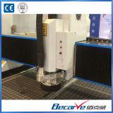 1325 High Precision coupe de bois / métal / acrylique / PVC Hyrid Servo Drive CNC Router Double Screw